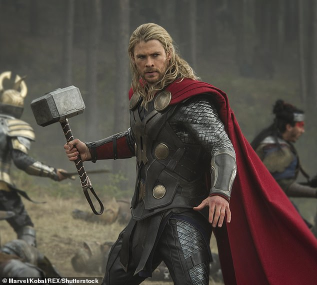 'It's been a hell of a ride': Chris Hemsworth, 37, celebrated the 10-year anniversary of the first Thor film on Wednesday by sharing an Instagram post reflecting upon how far his career has come