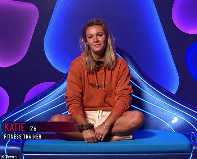 Gone girl:It comes after Katie was evicted from the Big Brother house on Wednesday night