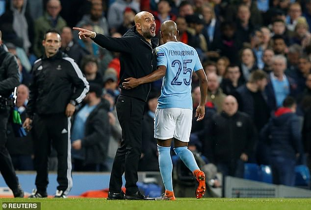 Pep Guardiola has previous with Lahoz, confronting him at half-time against Liverpool in 2018