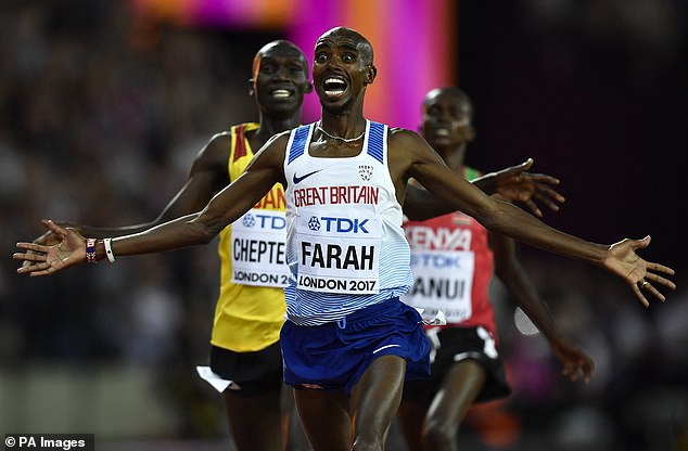 Farahis making his first return to the 10,000m since winning his sixth world title in 2017