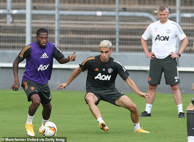 Pereira fell out of favour at Old Trafford and has not been in Solskjaer 's plans for some time