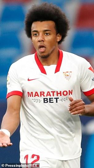 Sevilla defender Jules Kounde is also a target for United