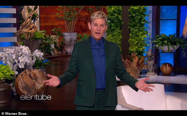 Not a light decision: DeGeneres added that she had 'thought a lot about this decision' in consultation with her wife, actress Portia de Rossi, 48