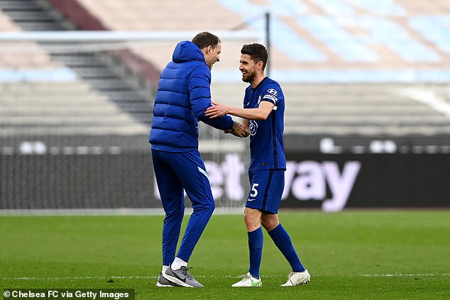Tuchel has shone fresh light on Jorginho's ability to dominate and direct play from midfield