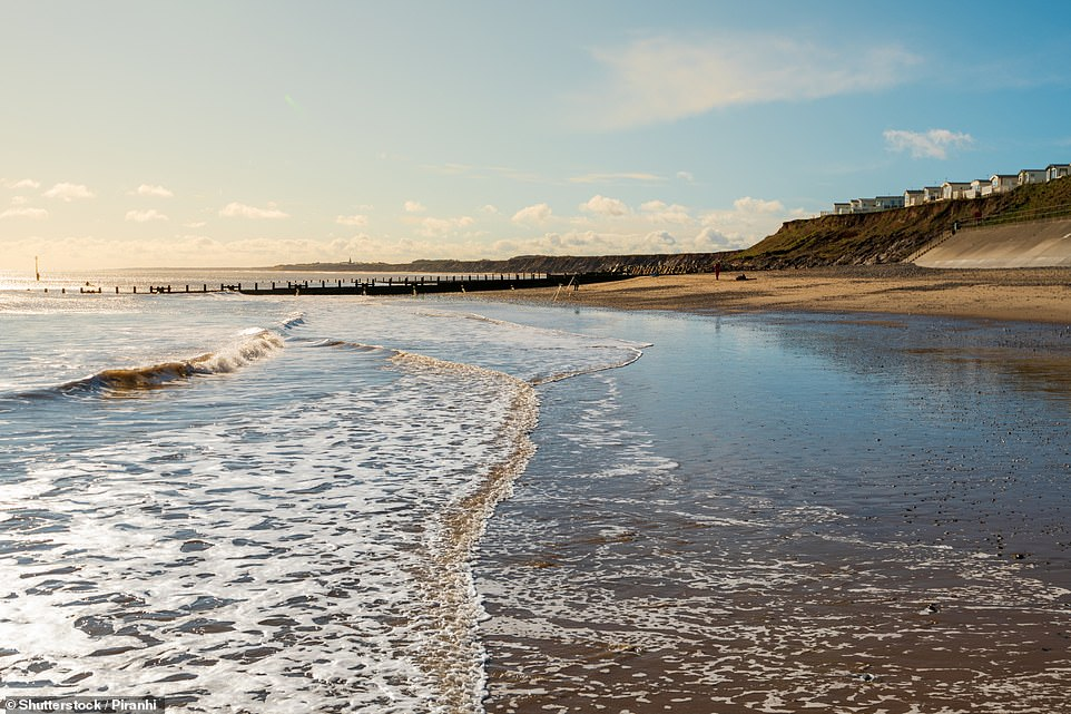 Hornsea Beach in Yorkshire is one of several beaches togain a Blue Flag this year after missing out in 2019 (there was no list in 2020 due to the pandemic)
