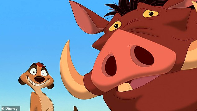 Miss Piggy the warthog and Mongo the mongoose have an uncanny resemblance to the famous friends Timon and Pumbaa from the iconic Lion King films
