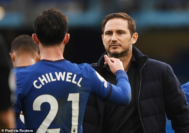 It was Frank Lampard who brought Chilwell in from Leicester last summer in a £50m deal