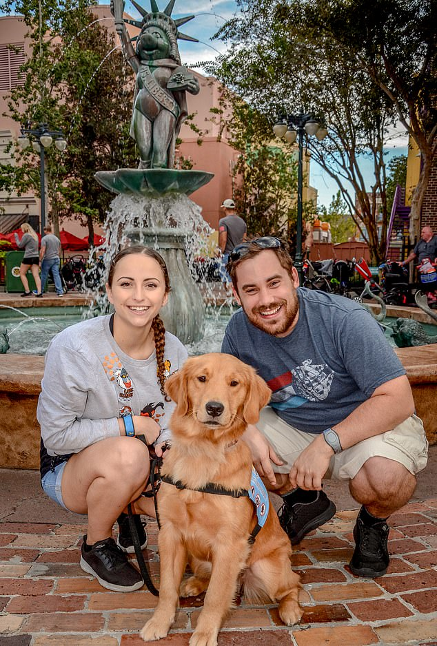 Libbi, Irving and Sparrow at Disney World Florida, 2018