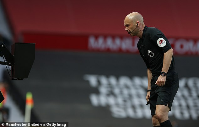 However, VAR advised Taylor to review the decision and he overturned the spot kick call