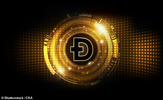 Dogecoin, which Australian Jackson Palmer co-founded as a 'joke' in 2013, has surged in value by an astronomical 17,731.6 per cent to 67.38 cents during the past year. Mr Sawhney expected the social media-driven cryptocurrency to halve to just 32 cents within weeks
