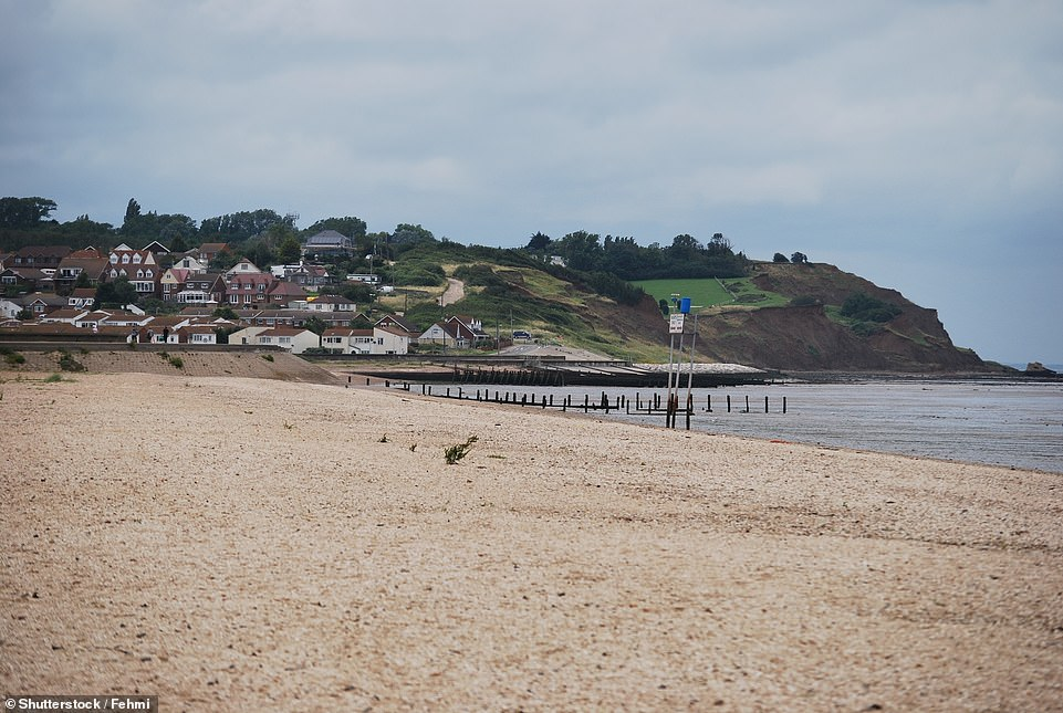 Leysdown Beach in Kent - a beach that has earned Blue Flag status in 2021 after missing out in 2019