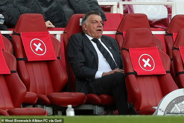 West Brom and manager Sam Allardyce have yet to decide whether to extend his contract