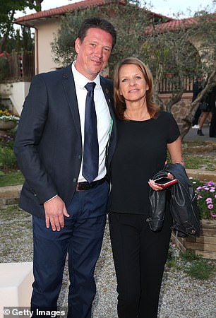 Ziege and his wife Pia in April 2019