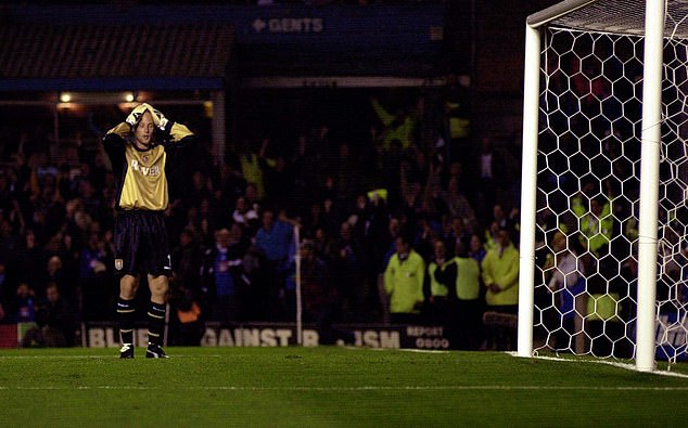 Peter Enckelman let the ball run through his foot and into his net in Aston Villa's derby loss