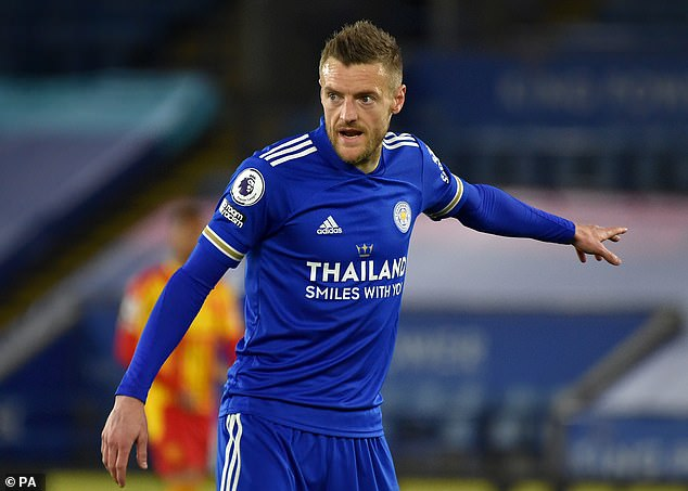 Jamie Vardy has been off the boil of late but could help exploit the wider spaces at Wembley