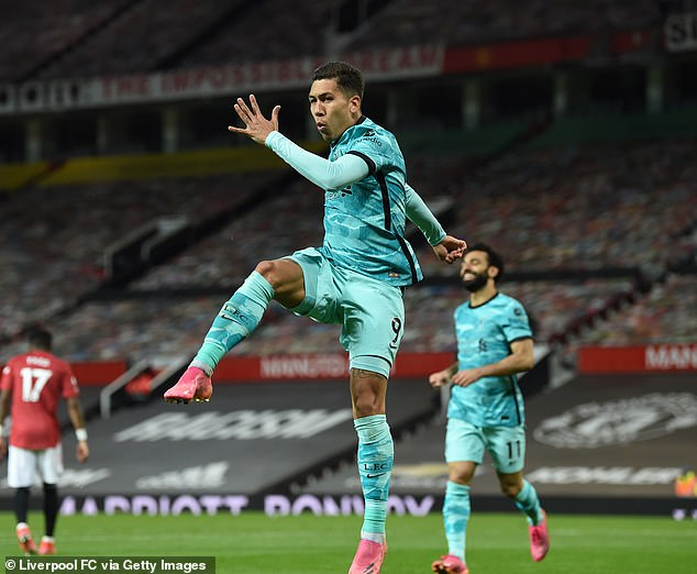 The Brazilian scored twice in Liverpool's crucial 4-2 win over Manchester United on Thursday