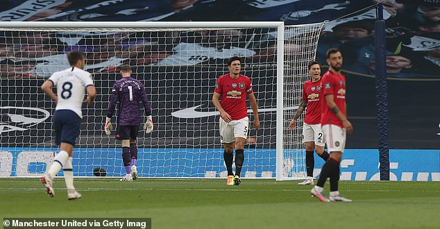 Keane savaged David de Gea and Harry Maguire after allowing Tottenham to score last year