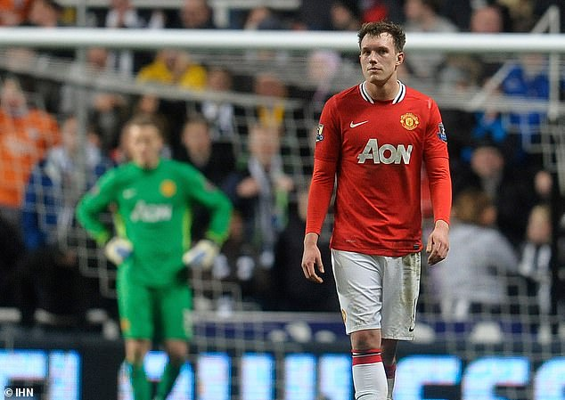 Phil Jones was another United defender to score an own goal - this one in a loss at Newcastle
