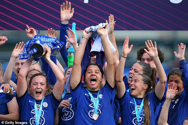 Hayes has won the WSL title and League Cup - now she is chasing Champions League glory