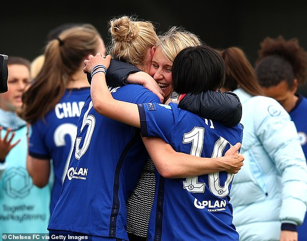 Hayes says her Chelsea team are so successful because 'everybody is well connected'