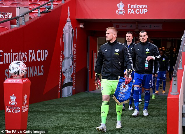 Schmeichel has gone on to achieve great things and will lead Leicester out for the FA Cup final