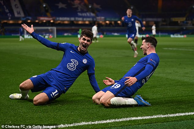Pulisic scored in first leg then came off the bench to set up Mason Mount vs Real Madrid