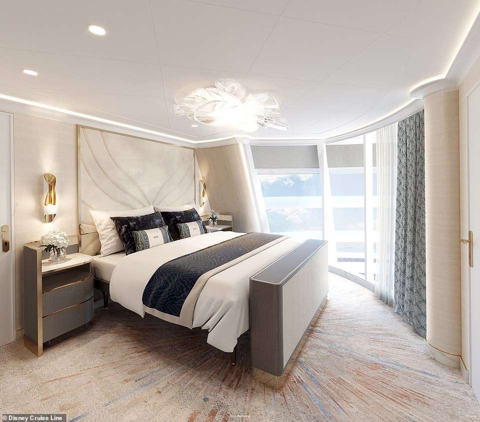 The Wish Tower Suitewill have nearly 2,000 square feet of living space and comfortably sleep up to eight guests (rendering shown)