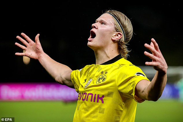 City have been linked with a mega-money move for Borussia Dortmund hotshot Erling Haaland
