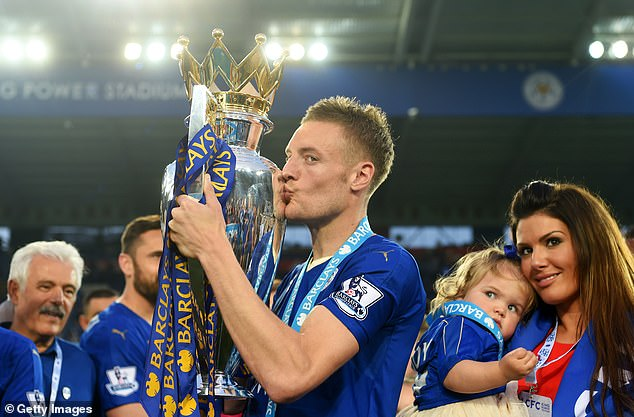 The 34-year-old went on to famously help the club win the Premier League title in 2016