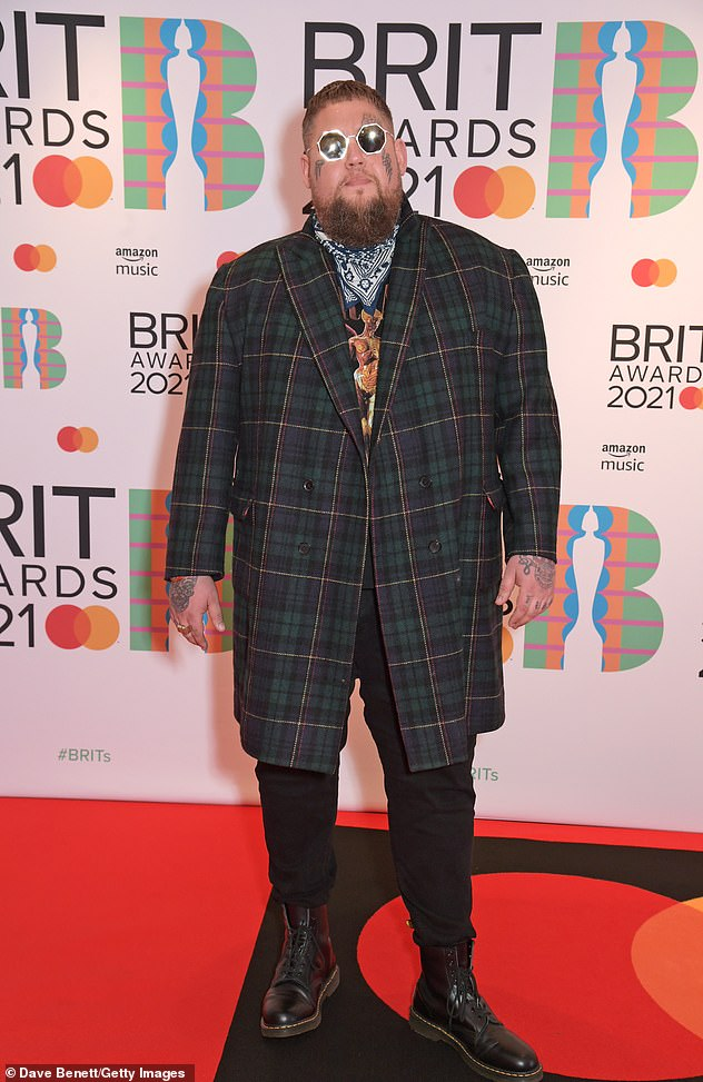 Amazing:Only recently, the star topped the UK album charts with his new record Life By Misadventure reaching number one (pictured at the 2021 BRITs in May)