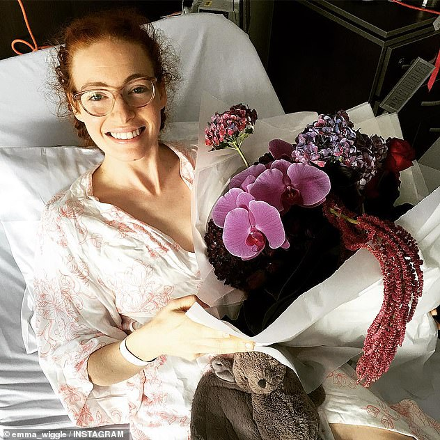 Trouble: 'My health has improved but it is constant management': In April 2020, Emma reflected on her health journey and recovery