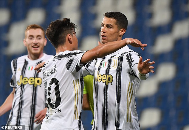 Ronaldo is still the top scorer in Serie A this season despite Juventus sitting fifth in the table