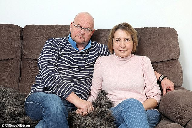 Husband and wife: This comes three years after James' wife Melinda (pictured together) passed away in May 2018 and a year after the radio host revealed he was also battling cancer.