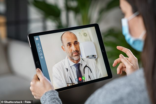 It's one of endless examples that could be given to show why face-to-face appointments will always be better than remote ones. Pictured: Stock image