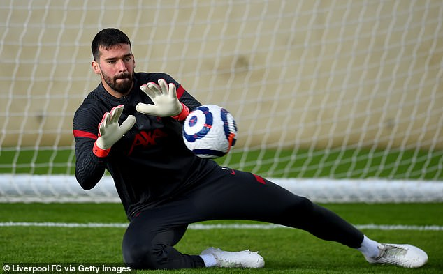 Adrian, 34, is now ready to commit to another season as understudy to Alisson Becker