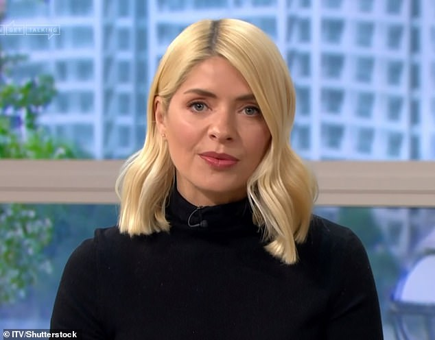 Pricey:In February, it was first reported that Holly was gearing up for a legal fight with her old agents in a row that insiders claim could cost £10million (pictured in 2020)