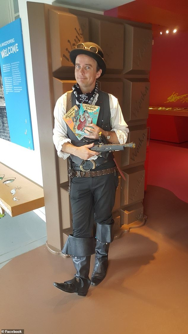 Gareth P. Jones wrote the Dragon Detective Agency book series and in 2012 won the Blue Peter Book of the Year award for The Considine Curse