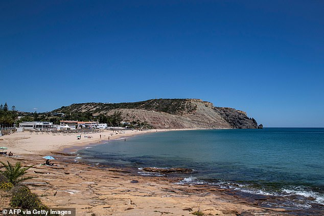 Three-year-old Madeleine, known as Maddie, vanished from a holiday apartment in Portugal's Praia da Luz on May 3, 2007. Pictured: Praia da Luz beach [File photo]