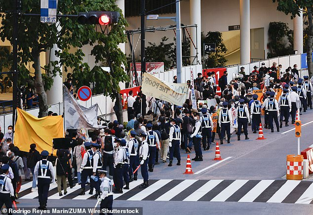 There have been many protests calling for the Tokyo Olympics and Paralympics not to be held