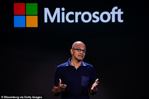 In a press release the tech mogul said he would continue to serve as a technical adviser to Chief Executive Satya Nadella, above