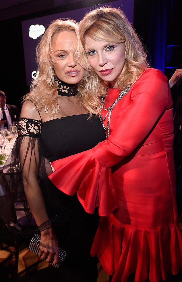 'It destroyed my friend Pamelas life': Courtney Love has issued a fiery takedown of the upcoming Hulu miniseries chronicling Pamela Anderson and Tommy Lee's leaked sex tape, Pam & Tommy, insisting the X-rated video 'destroyed' the Baywatch star