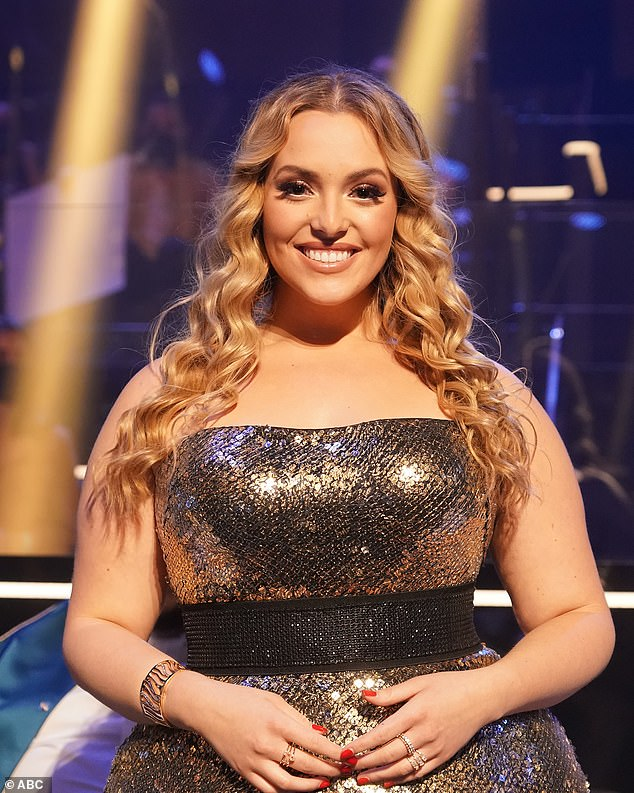 A vision: Grace recently spoke to Mass Live about her body confidence, saying, 'They want people to stick to the old standards that if you're plus size you can't do it because that you don't fit the mold or shouldn't wear this.  I don't agree with that '