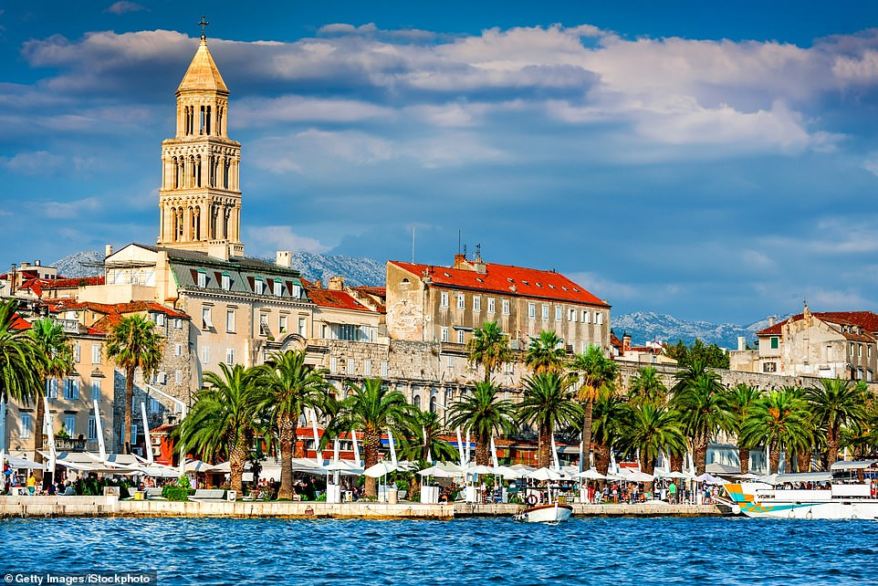 Coastal gem: Split in Croatia is home to the grand Diocletian's Palace. It is one of many highlights on the Regent Seven Seas Adriatic cruise
