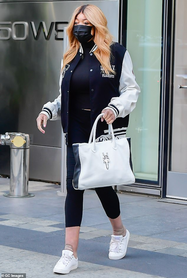 Places to visit: Wendy Williams stepped out in New York after split from lover Mike Esterman