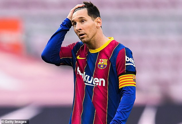 Barcelona's loss to Celta Vigo left Lionel Messi without a LaLiga title for a second year in a row