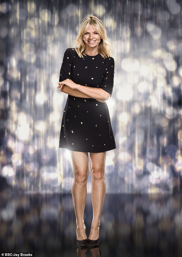 End of an era:Zoe Ball has announced she has quit Strictly Come Dancing spin-off show It Takes Two after ten years