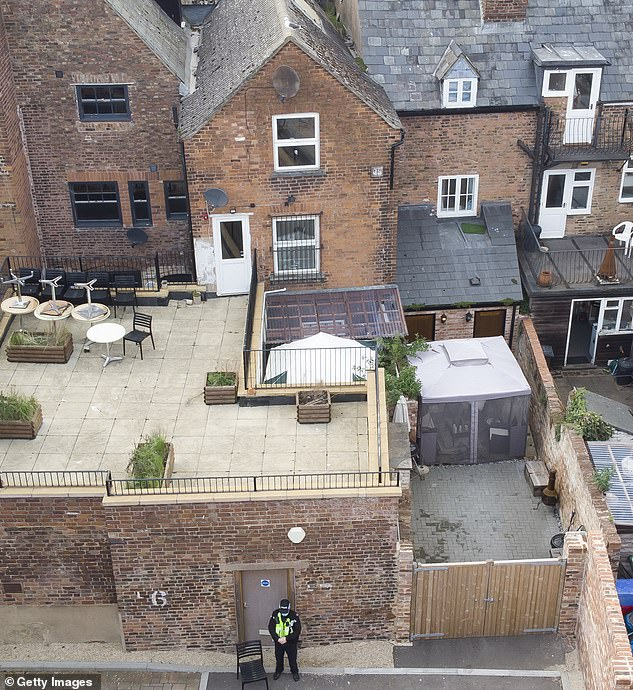 Fred West, who admitted killing 12 victims and may have murdered 20 more, was also said to have laid the concrete floor there just weeks before she disappeared 53 years ago