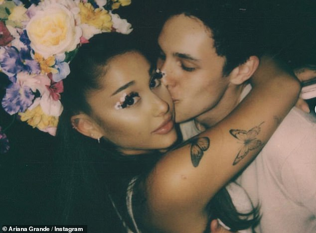 Low-key:The singer, 27, has kept her relationship with Dalton, 25, relatively low-key as her real estate beau prefers to keep out of the spotlight, despite boasting a Hollywood lifestyle