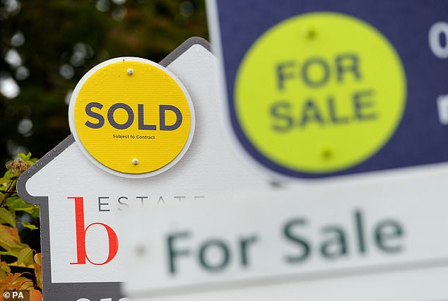 Priced out: Data from Savills shows that in 2019 first-time buyers were behind 51 per cent of house purchases. But by December 2020 this figure had fallen to 46 per cent