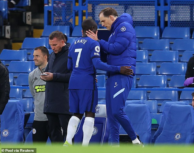 Thomas Tuchel has played down fears N'Golo Kante will miss Chelsea's final two games of the season
